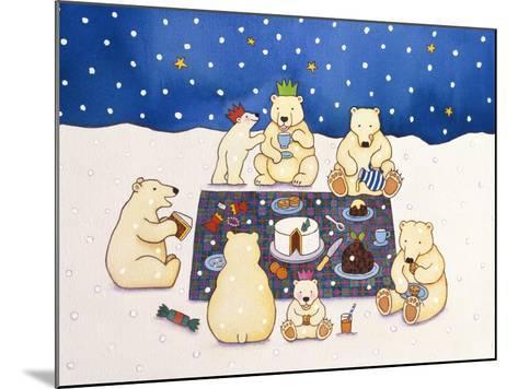 Polar Bear Picnic, 1997-Cathy Baxter-Mounted Giclee Print