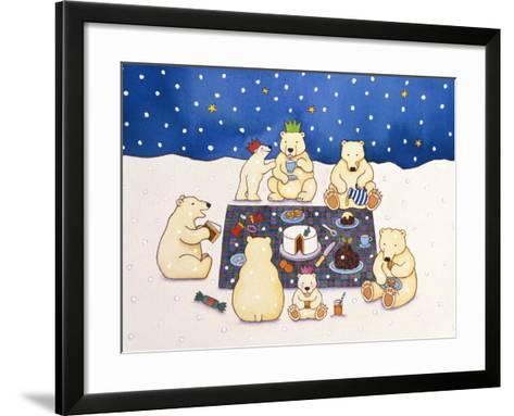 Polar Bear Picnic, 1997-Cathy Baxter-Framed Art Print