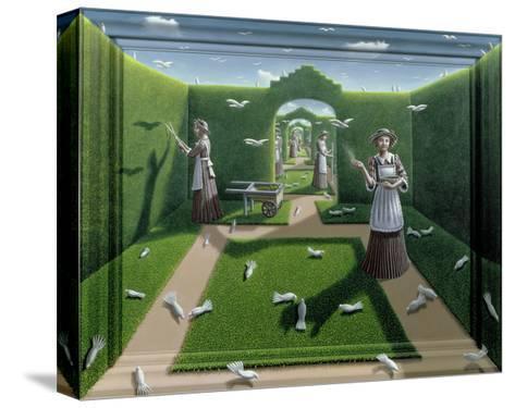 The Bird Garden, 1985-P.J. Crook-Stretched Canvas Print