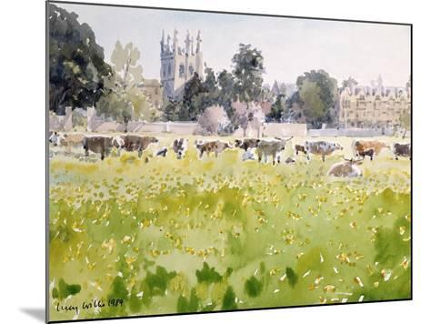 Looking across Christ Church Meadows, 1989-Lucy Willis-Mounted Giclee Print