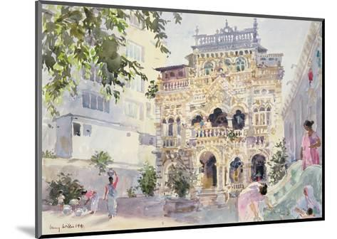 House on the Hill, Bombay, 1991-Lucy Willis-Mounted Giclee Print