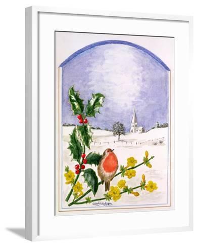 The Robin-Ursula Hodgson-Framed Art Print