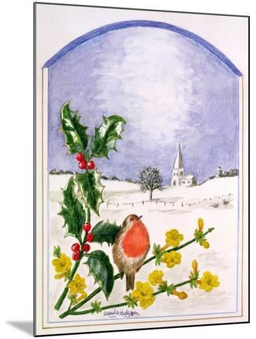 The Robin-Ursula Hodgson-Mounted Giclee Print