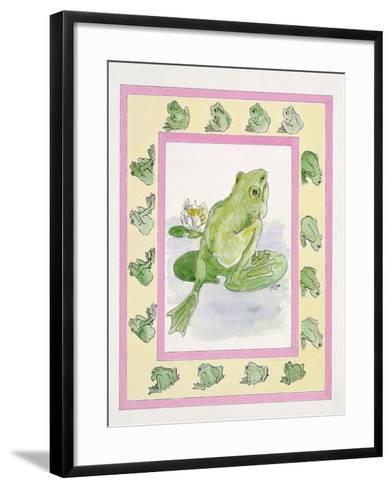 Frogs-Miranda Legard-Framed Art Print