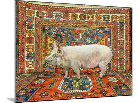 Singleton Carpet Pig-Ditz-Mounted Giclee Print