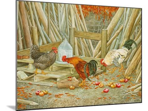 Chicken Feed-Ditz-Mounted Giclee Print