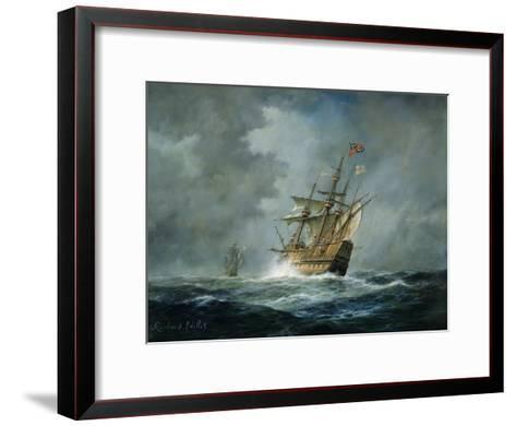 'Mary Rose'-Richard Willis-Framed Art Print