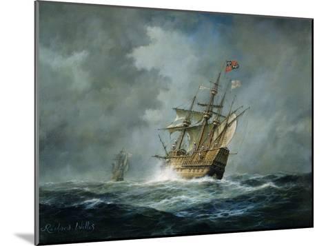 'Mary Rose'-Richard Willis-Mounted Giclee Print