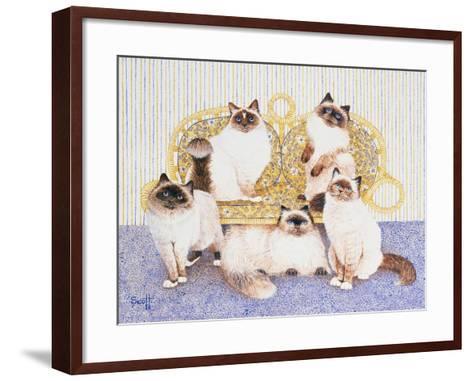 Chocolate Creams-Pat Scott-Framed Art Print