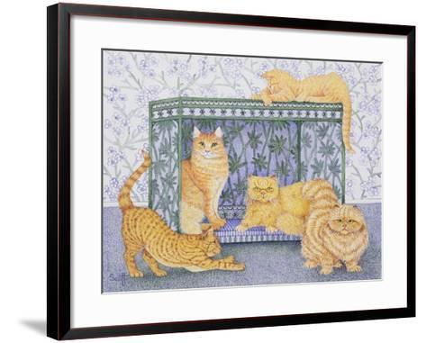 Ginger Gentlemen-Pat Scott-Framed Art Print
