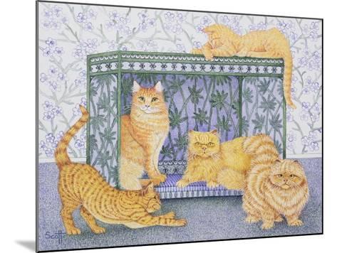 Ginger Gentlemen-Pat Scott-Mounted Giclee Print