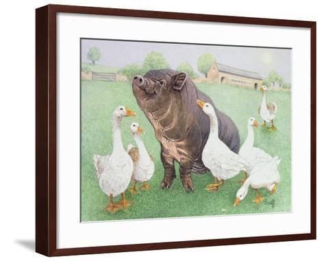 The Good Life-Pat Scott-Framed Art Print