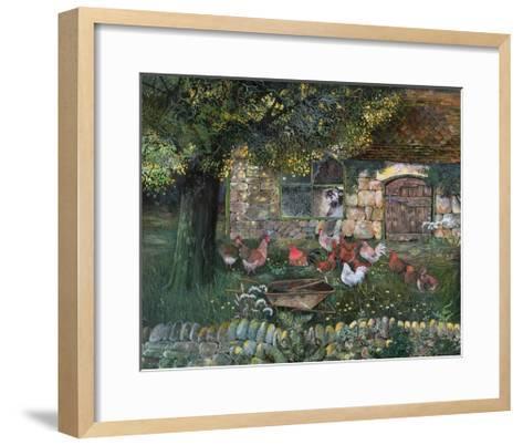 Hen House, 1988-Lisa Graa Jensen-Framed Art Print