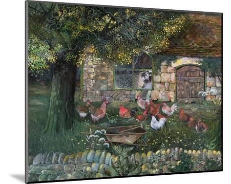 Hen House, 1988-Lisa Graa Jensen-Mounted Giclee Print