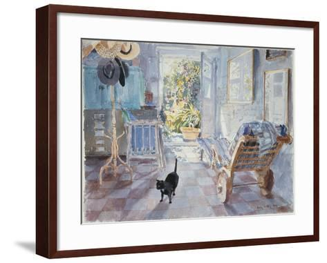 Inside Looking Out, 1991-Lucy Willis-Framed Art Print