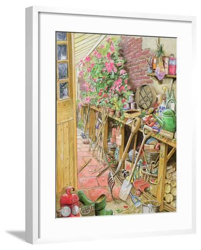Potting Up, 1997-Tony Todd-Framed Art Print