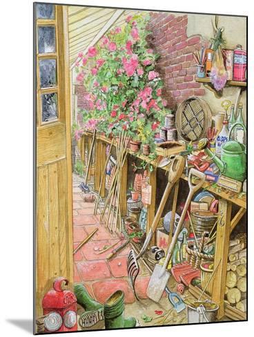 Potting Up, 1997-Tony Todd-Mounted Giclee Print