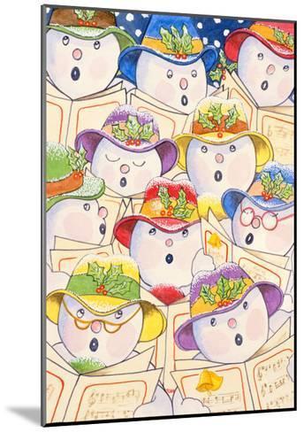 Singing Snowmen, 1997-Tony Todd-Mounted Giclee Print