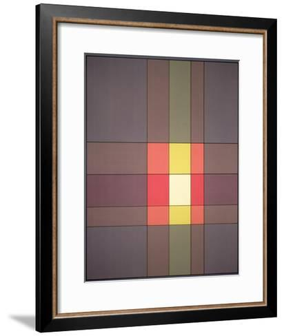 Overlay, 1982-Peter McClure-Framed Art Print