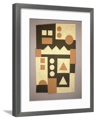 Shield, 1998-Peter McClure-Framed Art Print