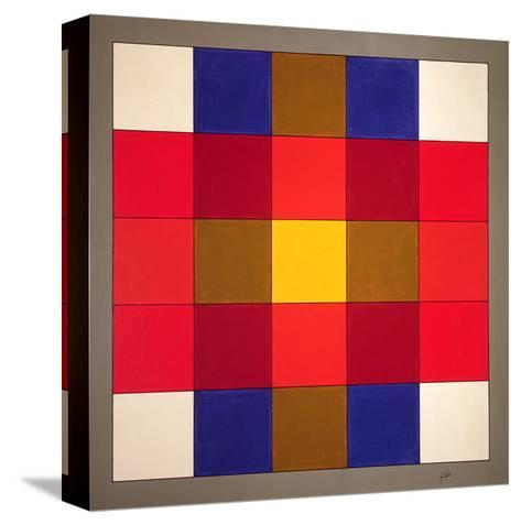 Subliminal Yellow Cross, 1986-Peter McClure-Stretched Canvas Print