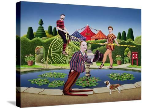 Circus Performers, 1979-Anthony Southcombe-Stretched Canvas Print