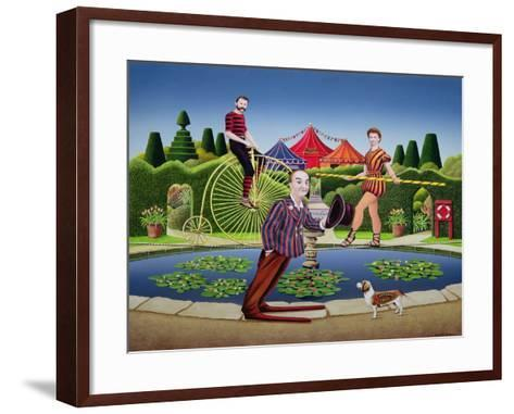 Circus Performers, 1979-Anthony Southcombe-Framed Art Print