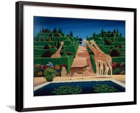 Animal Garden, 1980-Anthony Southcombe-Framed Art Print