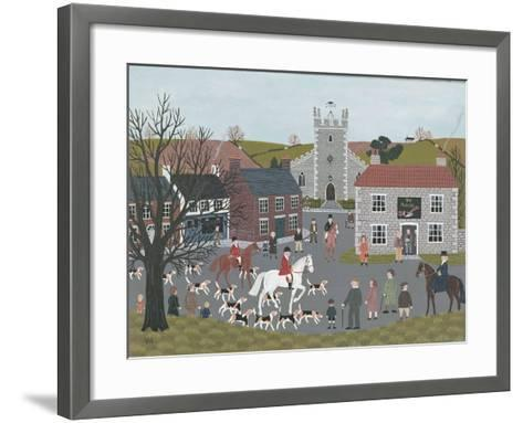 Setting Out from 'The Plough'-Vincent Haddelsey-Framed Art Print