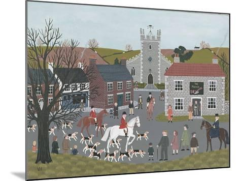 Setting Out from 'The Plough'-Vincent Haddelsey-Mounted Giclee Print