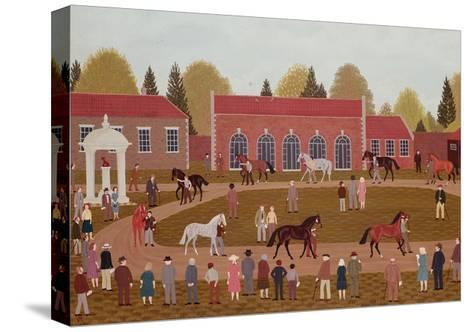 Racehorse Sales-Vincent Haddelsey-Stretched Canvas Print