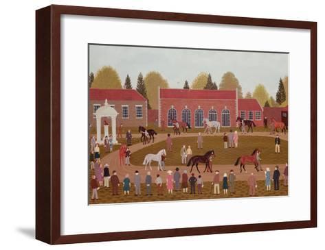 Racehorse Sales-Vincent Haddelsey-Framed Art Print