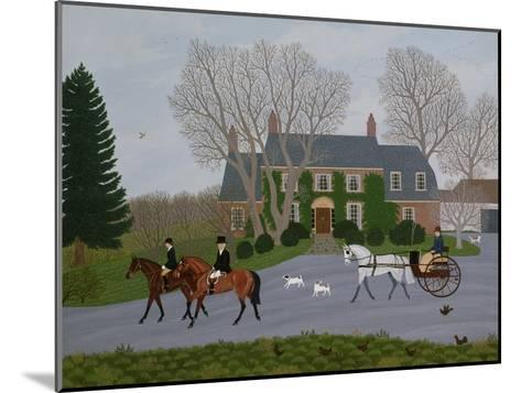 Setting Out for the Meet-Vincent Haddelsey-Mounted Giclee Print