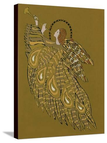 Musical Angel-Gillian Lawson-Stretched Canvas Print