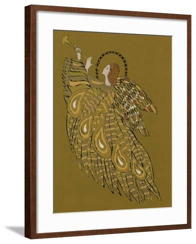 Musical Angel-Gillian Lawson-Framed Art Print