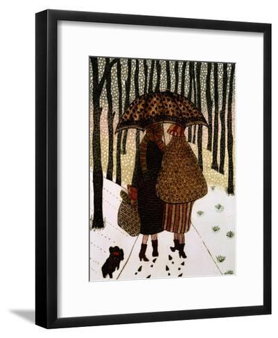 Snowflakes-Gillian Lawson-Framed Art Print