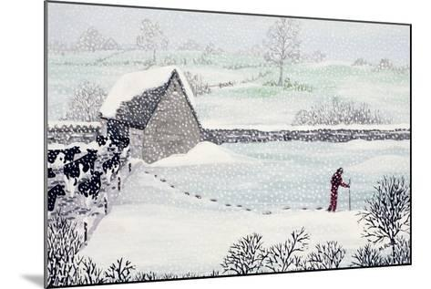 Cotswold Farm in Winter-Maggie Rowe-Mounted Giclee Print