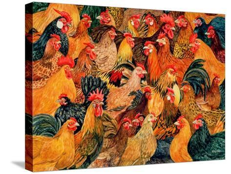 Fine Fowl-Ditz-Stretched Canvas Print