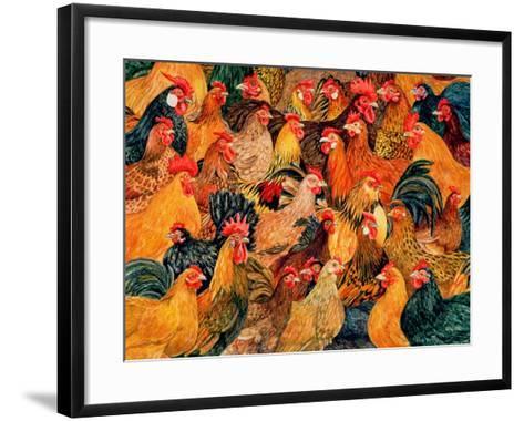 Fine Fowl-Ditz-Framed Art Print