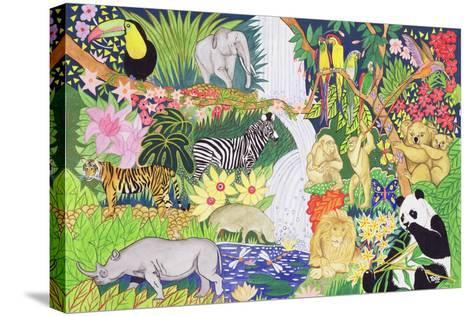 Jungle Animals-Tony Todd-Stretched Canvas Print