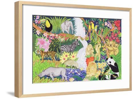 Jungle Animals-Tony Todd-Framed Art Print