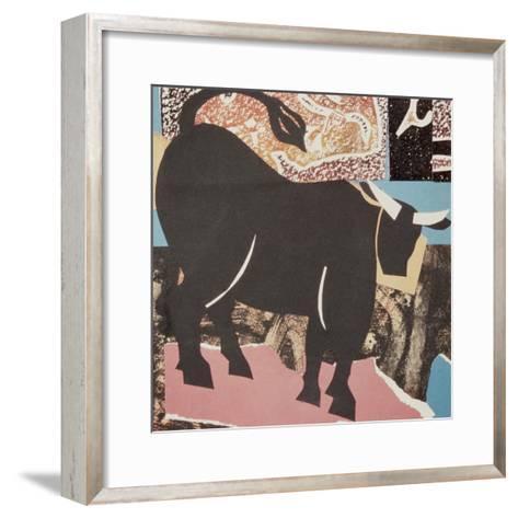 Aberdeen Angus Bull-John Wallington-Framed Art Print