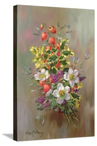 A Yuletide Posy-Albert Williams-Stretched Canvas Print