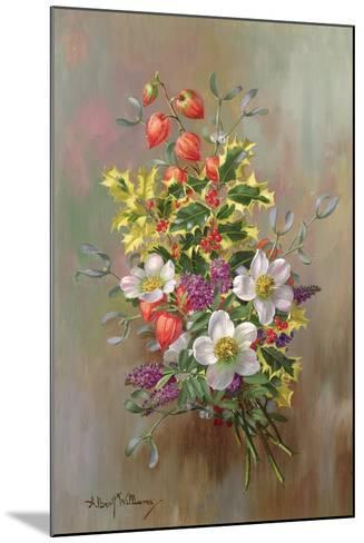 A Yuletide Posy-Albert Williams-Mounted Giclee Print