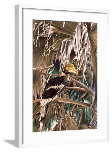 Hornbill, 1987-Sandra Lawrence-Framed Art Print