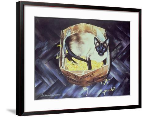 Mustdi 1983-Sandra Lawrence-Framed Art Print