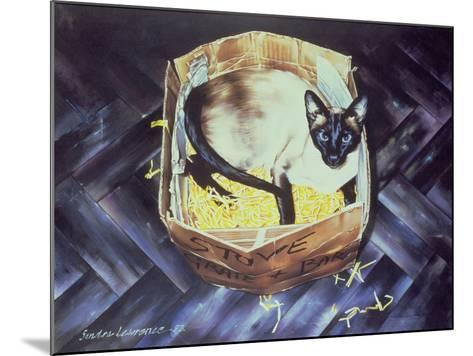 Mustdi 1983-Sandra Lawrence-Mounted Giclee Print