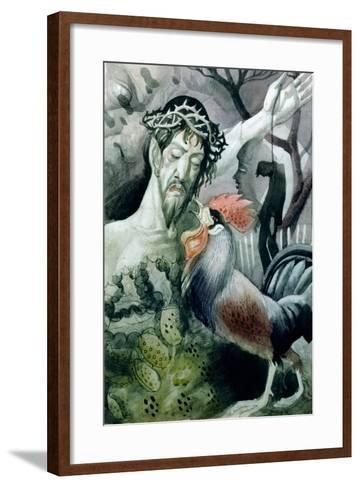 The Betrayal-Osmund Caine-Framed Art Print