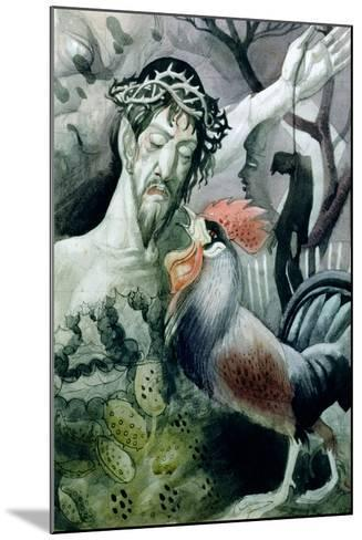 The Betrayal-Osmund Caine-Mounted Giclee Print