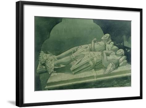 Effigies, Winchelsea Church-Osmund Caine-Framed Art Print
